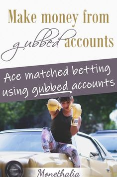 Find out how you can use your gubbed (restricted) matched betting bookmaker accounts to make profit Money Tips, Money Saving Tips, Make Money Online, How To Make Money, Matched Betting, Math Genius, Small Business Accounting, Investing Money, Book Making