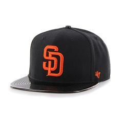 San Diego Padres Shinedown Captain Black 47 Brand Adjustable Hat d739be5c59f