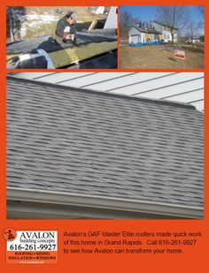 It only took about a half-day for our GAF Presidential crew to replace the roof on this big home in Grand Rapids.  Call 616-871-2507 if you would like Timberline HD Pewter Grey shingles (or any other color) on your home.