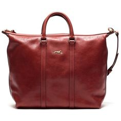 Bimba y Lola Heritage Shopping Bag found on Polyvore