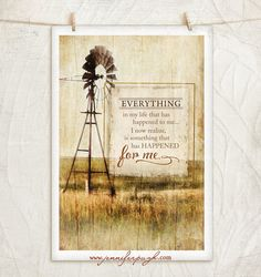Look at this 'Everything in Life' Framed Wall Art on today! Windmill Decor, Heart Warming Quotes, Old Windmills, Wall Quotes, Country Decor, Farmhouse Decor, Framed Wall Art, Color Splash, Everything