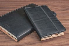 BLACK LEATHER NOTEBOOK Grovemade