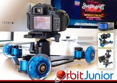 Digital Juice Orbit Junior is the perfect portable easy-to-use way to improve the quality of your shots.