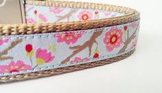 Little Blossoms  Dog Collar / Adjustable / by StinkyandSweetPea