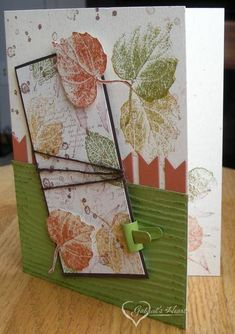 Wrapped Fall Foliage by darbaby - Cards and Paper Crafts at Splitcoaststampers    :))