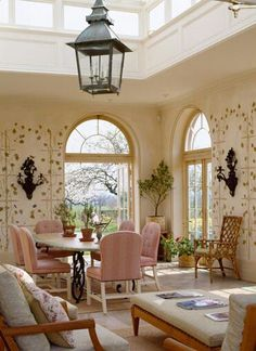 Mark Gillette Interior Design: English Country House