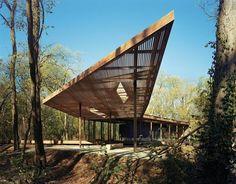Ruth Lilly Visitors Pavilion | Marlon Blackwell Architect