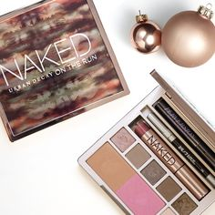 """It makes a quick exit easy."" —Wende Zomnir on the new @urbandecaycosmetics Naked On The Run palette."