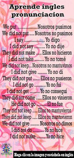 (Movie in Spanish) Spanish Grammar, Spanish Vocabulary, Spanish Words, Spanish Language Learning, Teaching Spanish, English Grammar, Teaching English, English Language, English Time