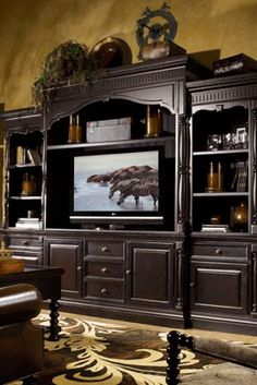 Great room entertainment center