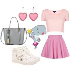 How To Dress Like 10 Of Your Favorite SpongeBob SquarePants Characters spongebob inspired outfits Cartoon Outfits, Pearl Spongebob, Spongebob Friends, Throwback Thursday Outfits, Middle School Outfits, Summer Outfits, Cute Outfits, Character Inspired Outfits, Disney Bound Outfits