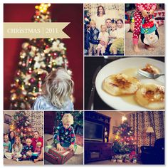 Month-in-Photos - what a great idea to record family moments