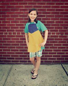 snow white apron  girls medium by jordandene on Etsy, $41.00