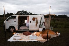 Spell & the gypsy collective van camping, camping hacks, camping gl Van Camping, Camping Glamping, Camping Ideas, Camping Hacks, Camper Life, Camper Van, Cabana, Motorhome, Mobile Living
