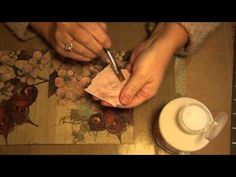 A short tutorial on using paper napkins to create dimension in your mixed media. Thought I would just share the start of my next junk journal for you