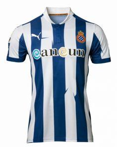 Espanyol Puma Home Shirts 2012 13 Real Club Deportivo Español 016268b0eabfc