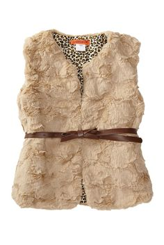 Image of Funkyberry Faux Fur Vest (Toddler Girls)
