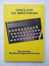 Sinclair ZX Spectrum - Deutsche Bedienungsanleitung, Vobis