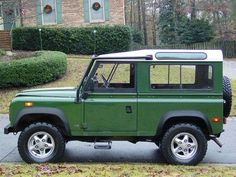 Defender 90. Not a Jeep. But still awesome.