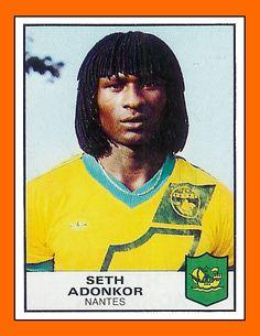 Seth Adonkor, Marcel Desaillys storebror som dog i en bilolycka. Jag såg honom i franska U21-landslaget på Eyravallen i Örebro.