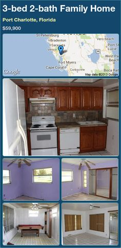 3-bed 2-bath Family Home in Port Charlotte, Florida ►$59,900 #PropertyForSale #RealEstate #Florida http://florida-magic.com/properties/13690-family-home-for-sale-in-port-charlotte-florida-with-3-bedroom-2-bathroom