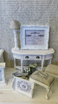 Cute furniture ideas...miniatyrmama