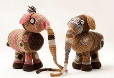 Handwork DesignDe sødeste fabeldyr, Hæklet og strikket. Nu kan du købe kits til dem hos Ho Strik