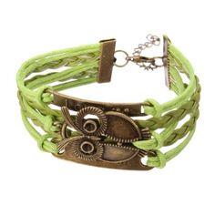 Multilayer Infinite Symbol Owl Love Letter Leather Bracelet Gift for Unisex Girls Jewelry, Men's Jewelry, Fashion Jewelry, Women Jewelry, Jewelry Bracelets, Initial Jewelry, Leather Jewelry, Vintage Jewelry, Owl Bracelet