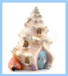 A lovely addition for your fairy garden http://www.fairygardenfun.net/products/shell-shanty-fairy-mermaid-house?utm_campaign=social_autopilot&utm_source=pin&utm_medium=pin