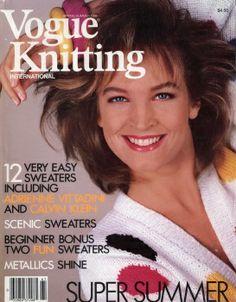 Vogue Knitting International - Spring / Summer 1986