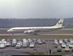 Scandinavian Airlines - SAS Sky-Freighter - Douglas DC-8-55CF Jet Trader - Stockholm - Arlanda (ARN / ESSA) - Sweden, September 1966 - Photographer: Lars Söderström