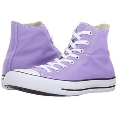 ced641cc0325e1 Converse Chuck Taylor All Star Seasonal Color Hi (Frozen Lilac) Lace up  casual Shoes