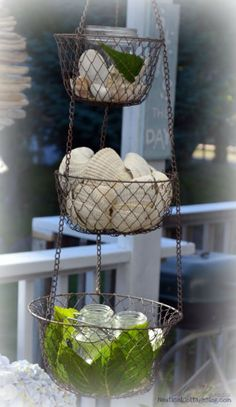 Beach House Decorating | It's Easy to Create Mood Lighting for Outdoor Spaces |