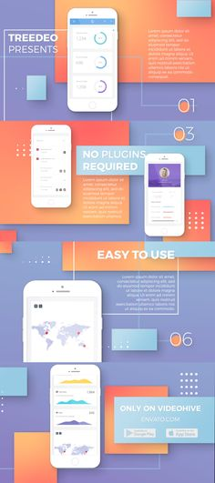Buy Flat App Promo by Treedeo on VideoHive. Flat App Promo Mobile App Promo is the perfect After Effects template for your app presentation or promo. Presentation App, Presentation Templates, Pub Design, Interior Design Sketches, Brand Fonts, Me App, Website Layout, Mobile App, Architectural Sketches