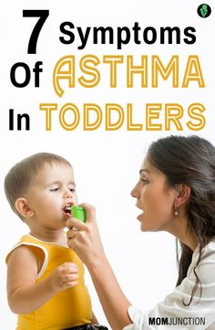 7 Serious Symptoms Of Asthma In Toddlers You Should Be Aware Of: Asthma is one of the most common chronic diseases found in children. If your toddler too suffers from it, try and arrest the problem by knowing about it well. Asthma Relief, Allergy Asthma, Asthma Symptoms, Baby Health, Kids Health, Asthma In Toddlers, Asthma In Children, What Is Asthma