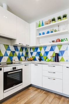 Konyha ötletek - 20 remek ötletadó konyha kisebb alapterületű lakásokból - színek, stílus, burkolatok, elrendezés - Lakberendezés trendMagazin