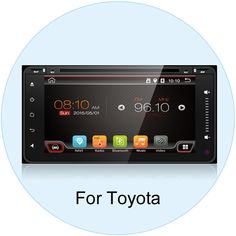 Quad Core Android 4.4 Car DVD Player GPS for Toyota RAV4 Corolla Camry Vios Hilux Toyota Universal DVD Support 1G/16GB