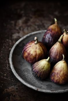 Figs. Had some last night to remind myself how sweet and succulent these are.