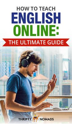 How To Teach English Online Teach English To Kids, Online English Teacher, Language School, Teaching Jobs, Work Travel, English Lessons, Online Work, Positive Attitude, Step Guide