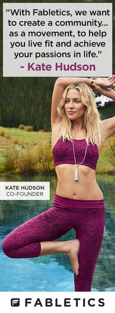 f073ebfa6a 27 Best Kate Hudson workout!! images | Athletic wear, Workout ...