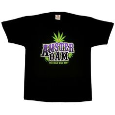 """""""The Wild Wild Best"""" Amsterdam T-shirt, Nice colors on this"""