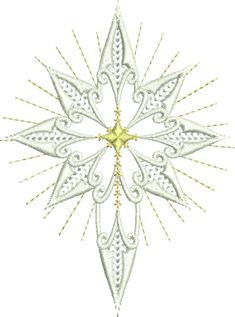 #FREE Sue Box Creation Embroidery Designs | Star of Bethlehem NOTE: Ordering a FREE design or Project notes, Select the PayPal option when checking out (you do not need a PayPal Account) and this will bypass the need to enter your credit card details.