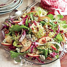 Harvest Salad with Roasted Citrus Vinaigrette and Spiced Pecans | Christmas Holiday Side Dish Recipes - Southern Living Mobile