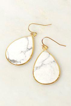 Take Me For Granite Stone Earrings Marble