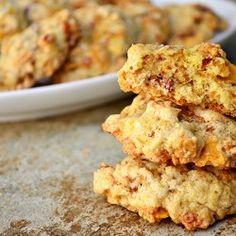 Breakfast Bacon Cookies