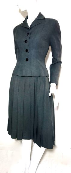 uber sexy avant garde 1930s 40s business dress and jacket