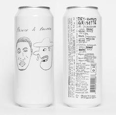 Beer Packaging, Food Packaging Design, Beverage Packaging, Packaging Design Inspiration, Brand Packaging, Branding Design, Craft Beer Labels, Beer Label Design, Beer Brands