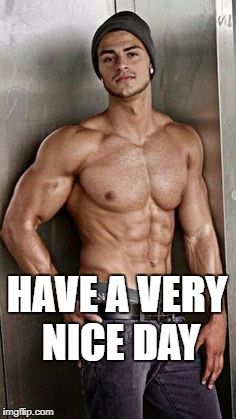 Bodybuilder Hookup Meme About Bitches Chasing