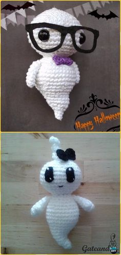 Crochet Ghost Amigurumi Free Patterns -Crochet Halloween Amigurumi Free Patterns