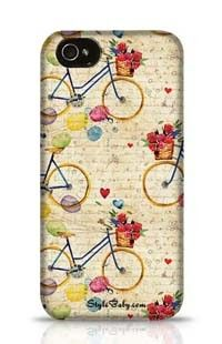 Hand Drawn Watercolor Pattern Apple iPhone 4S Phone Case